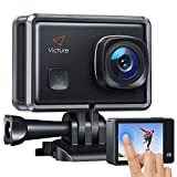 Victure AC900 Action Cam Webcam PC Camera Echte 4K 20MP WiFi Touchscreen Unterwasserkamera wasserdichte 30M Helmkamera mit Extreme Video und 8 Filtereffekte
