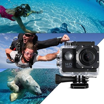 Icefox Action Cam 12 MP 1080P Taucher