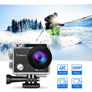 Crosstour Action Cam 4k Front