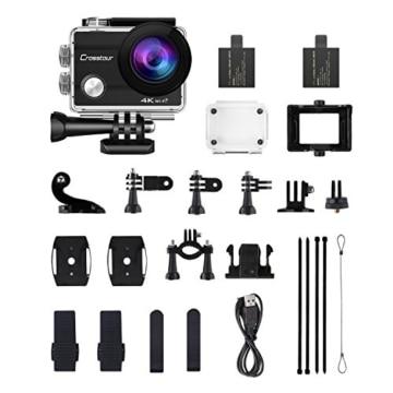 crosstour action cam wifi sports aktion kamera 4k