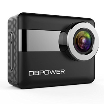 DBPower 4k Action Cam Front