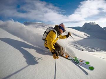 Gropro Hero 4 Black Skifahrer