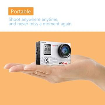 HDCool Action Cam 4k klein