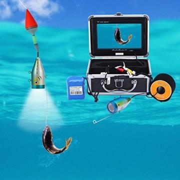 KKmoon Unterwasser Fisch-Finder Kamera Koffer Zubehör