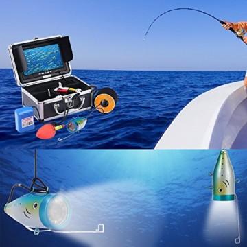 KKmoon Unterwasser Fisch-Finder Kamera