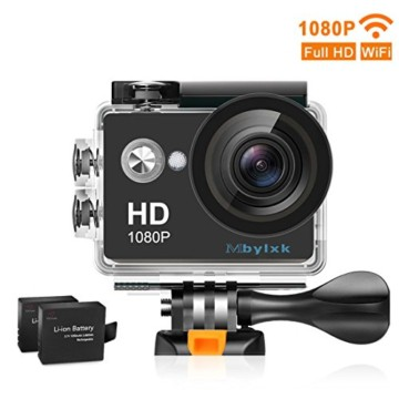 mbylxk action Cam Full HD WiFi Front