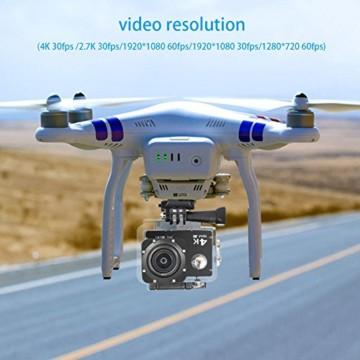 Nextgadget 4k Action cam mit Drohne