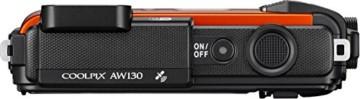 Nikon Coolpix AW130 Oben