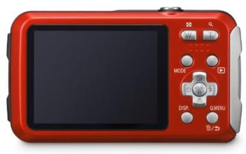 Panasonic DMC ft25eg r Lumix Back
