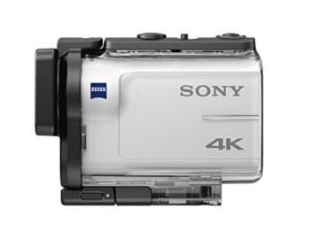Sony FDR x3000rfdi 4k mit Gehäuse seitlich