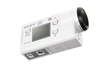 Sony FDR x3000rfdi 4k Ansicht seitlich
