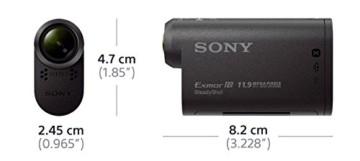 Sony HDR as30vw Größe