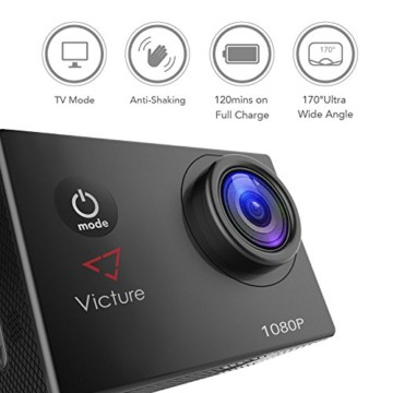 Victure Action Cam 12 MP Full HD