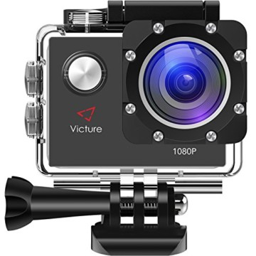 Victure Action Cam 12 MP Full HD Gorße Ansicht