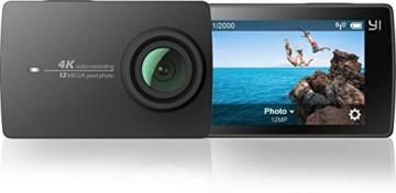 YI 4k Action Kamera LCD