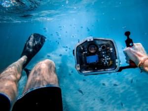 filmen unterwasser